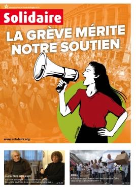 Mensuel du Parti de Travail de Belgique | bd M. Lemonnier 171, 1000 Bruxelles | 44iéme année n° 16 (1962) du 4 décembre 2014