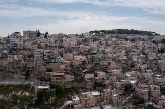 Le quartier de Silwan, à Jérusalem-Est. (Photo Andrea Moroni, Flickr)