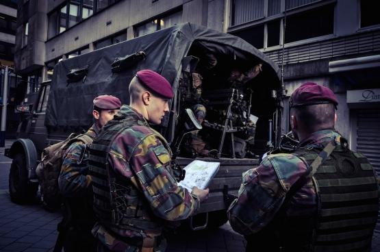 Anvers, 17 janvier 2015. (Photo Flickr / mediactivista)