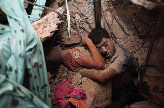 Final Embrace (Photo Taslima Akhter)