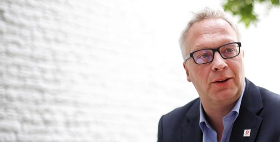 Peter Mertens (Photo Solidaire, Salim Hellalet)