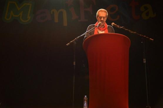 Alain Detemmerman (co-Président ABVV-FGTB HORVAL) (Photo Solidaire, Aïcha Attaleb)