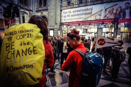 Climate Miles Antwerpen. (Photo mediActivista / Flickr)