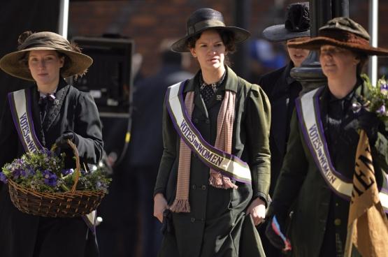 Le film Suffragette relate le combat des activistes pour le droit de vote des femmes en Grande-Bretagne au début du 20e siècle.