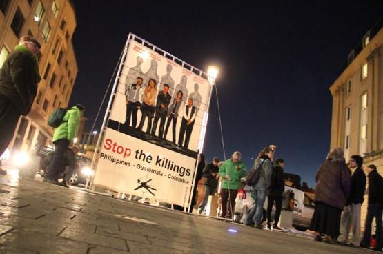 Cette année, la plateforme Stop the Killings entend bien apporter son soutien aux militants environnementaux du Sud. (Photo Solidaire, Martine Raeymaekers)