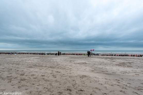 Ostende, dimanche 6 décembre 2015. (Photo Solidaire, Karina Brys)