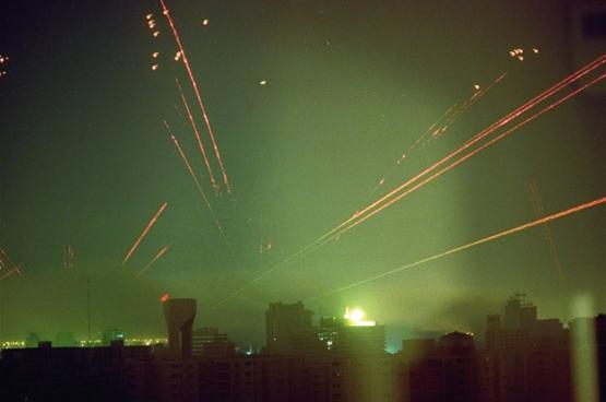 En 1991, la guerre en Irak a été la première guerre suivie en live à la télévision.