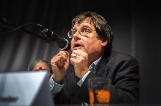 John Bellamy Foster. (Photo Solidaire, Evy Menschaert)