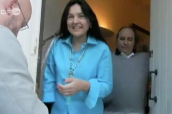 """Image de la ministre Marghem dans """"Fraude à la Une"""""""