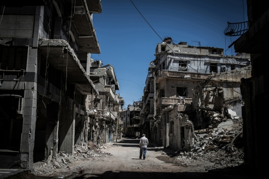 Homs, Syrie. Photo Flickr, pan_chaoyue