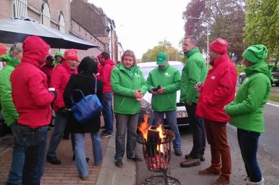 Prison de Gand • Les fonctionnaires fédéraux sont en grève ce mercredi 27 avril. Et des piquets en front commun syndical ont également lieu dans les prisons.