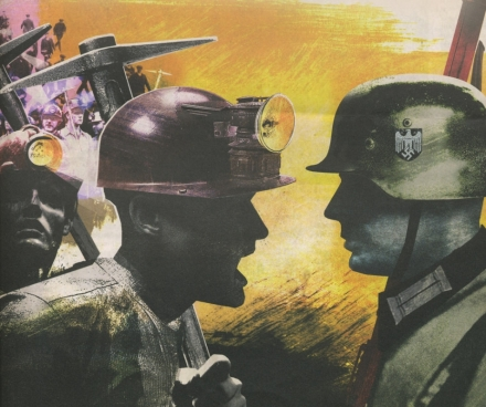 Illustration de Jonathan McHugh, Les Journaux de Guerre 1940-1945