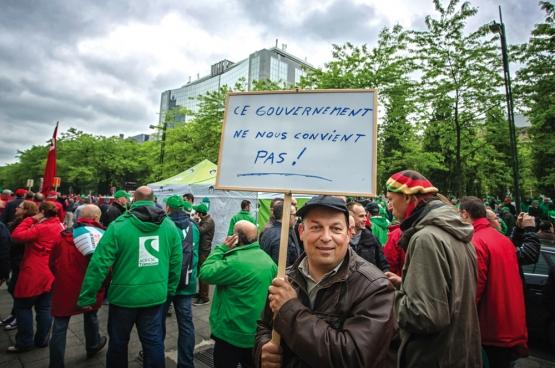 Bruxelles, 24 mai 2016. (Photo Solidaire, Salim Hellalet)