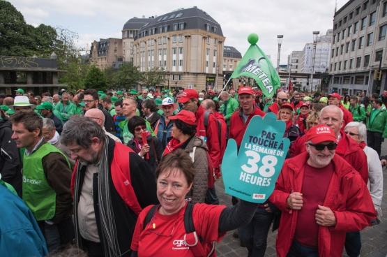Bruxelles, 24 mai 2016. (Photo Solidaire, han Soete)