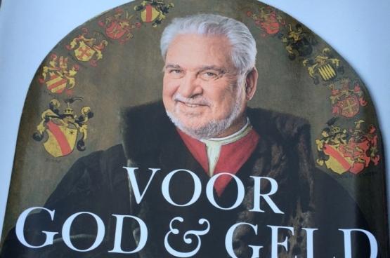 Fernand Huts : Je roule « pour Dieu et pour l'Argent » ! (Photo : DeWereldMorgen.be)