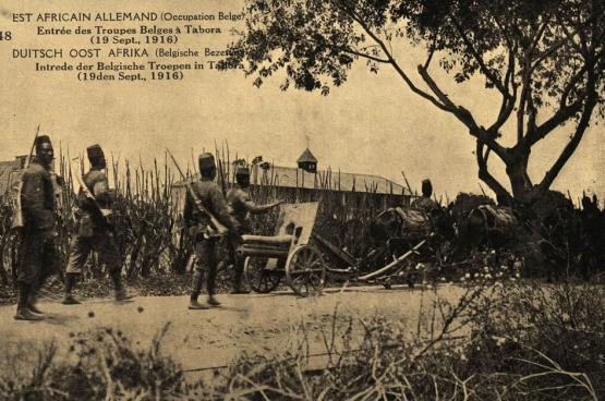 Photo de l'exposition «Les Congolais dans la Grande Guerre : inconnus à cette adresse»