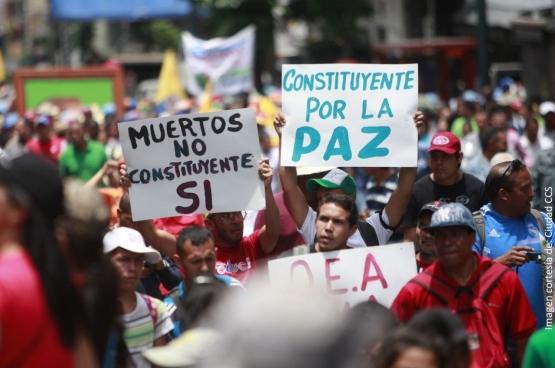 Plus de 8 millions de Vénézuéliens ont voté pour élire l'Assemblée constituante et pour la paix. (Photo Ciudad CCS)