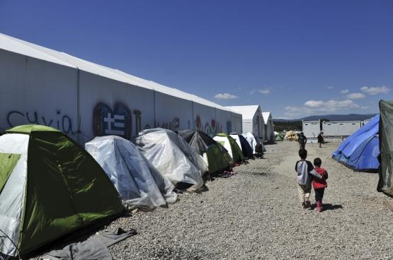 La politique de l'Union européenne envers les migrants? La seule répression. (Photo © European Union 2016 - European Parliament)