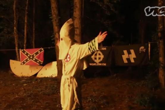 Avec l'élection de Trump, les mouvements d'extrême droite (alt-right, néonazis, Ku-Klux-Klan...) se sont senti pousser des ailes. (Photo Vice)