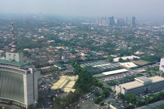 Quezon City, au nord de Manille, capitale des Philippines. (Photo Patrick Roque).