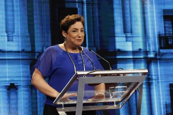 Beatriz Sanchez, la candidate de Frente Amplio. (Photo Patricia Alarcón)
