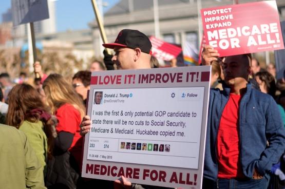 Les soins de santé américains sont tellement privatisés et commercialisés qu'ils deviennent un vrai business pour milliardaires. (Photo Tom Hilton / Flickr)