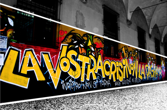 « Votre crise, nous ne la paierons pas » (Photo Alessandro Capotondi/Flickr)