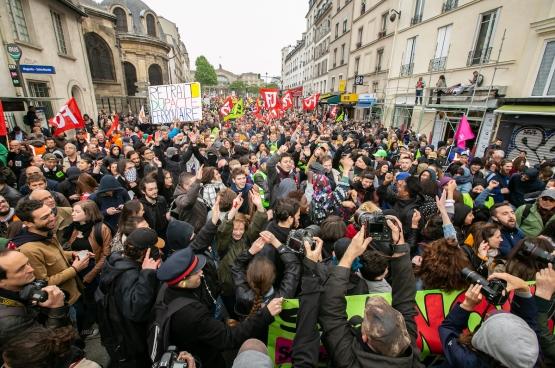 Depuis des mois, un mouvement social porté par les cheminots traverse la France. (Photo FO)