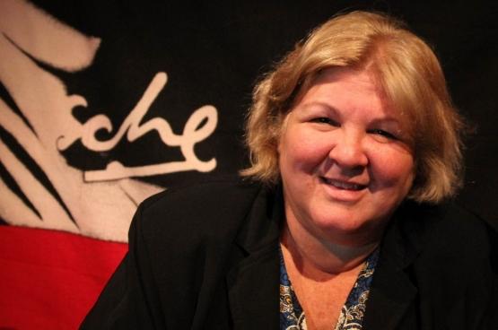 Aleida Guevara est la fille du Che. Elle sera à ManiFiesta pour la troisième fois, ce 8 septembre. (Photo Solidaire, Raf De Geest)