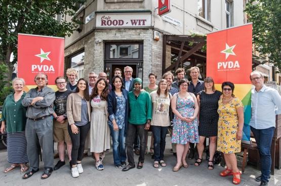 Anvers constitue un enjeu majeur pour le PTB. Peter Mertens y sera tête de liste, aux côtés de dizaines de candidats, représentant la diversité des origines et des engagements pour une ville à la mesure des gens. (Photo Solidaire, Karina Brys)