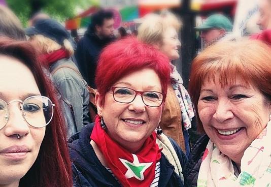 Rosa, au centre. (Photo Celine Dolçek)