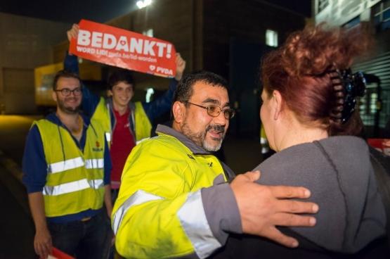 Au lendemain de son élection au conseil communal de Gand, Yuksel Kalaz a remercié ses collègues. (Photo DR)