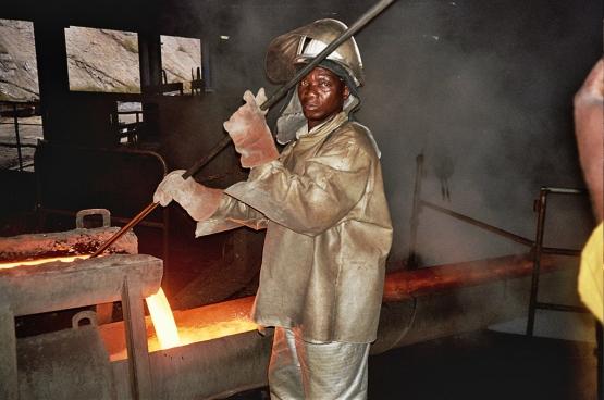 La part du secteur minier dans l'économie congolaise est très élevée. (Photo Raf Custers)