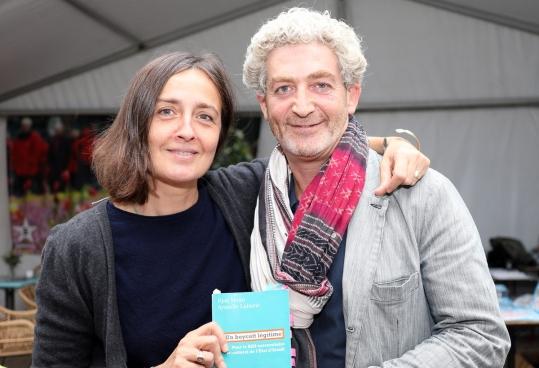 Eyal Sivan à ManiFiesta le 8 septembre. Photo Solidaire, Sophie Lerouge