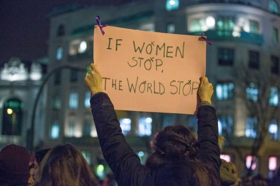 Les femmes d'Espagne ont écrit un nouveau chapitre de l'histoire sociale. (Photo Izquierde Unida, Flickr)