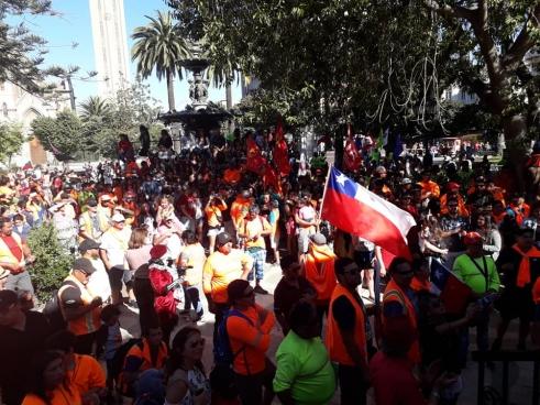 La solidarité avec les travailleurs du port est très grande.