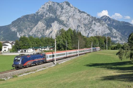 En Europe occidentale, l'Autriche fait figure d'exception : des trains de nuit y ont été récemment réintroduits, alors que partout ailleurs ils ont été supprimés. (Photo Jan Roider/Flickr)