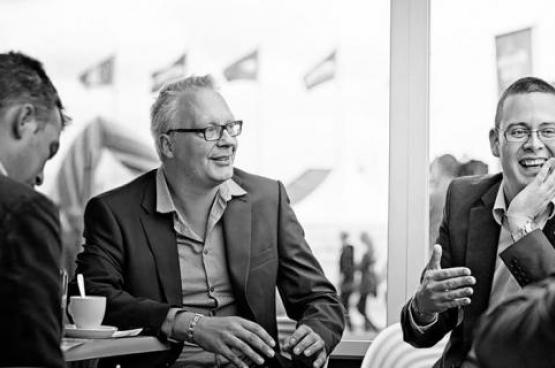 Le président du PTB, Peter Mertens, et le député fédéral PTB Raoul Hedebouw. (Photo Solidaire, Salim Hellalet)
