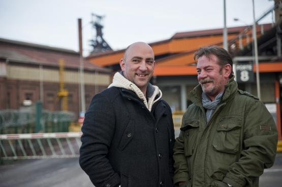 Gaby Colebunders et Frédéric Gillot. (Photo Solidaire, Antonio Gomez Garcia)