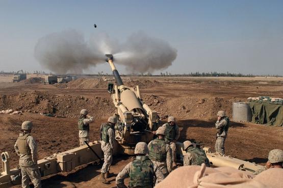Des marines américains en Irak en 2004. Bientôt en Iran ? (Photo Wikimedia Commons)