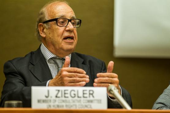 Jean Ziegler (Photo ONU Genève)