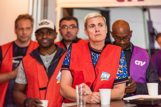 « Des salaires plus élevés n'arrivent pas  d'eux-mêmes. Nous avons à nouveau dû faire grève pour des augmentations salariales décentes dans la métallurgie », explique-t-on au syndicat FNV Metaal. (Photo FNV Metaal)