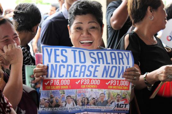 Les syndicats philippins sont plus que jamais menacés par la politique violente du président Duterte. (Tous droits réservés)