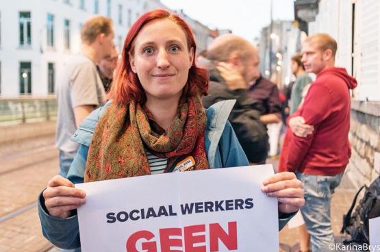 Ans est bénévole à Médecine pour le Peuple Deurne (Anvers)