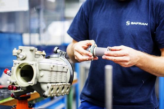 Des moteurs d'avion... aux pièces pour respirateurs : quelle reconversion pour les travailleurs de Safran Aero Booster à Herstal (Photo : Béa Uhart / CAPA Pictures / Safran)