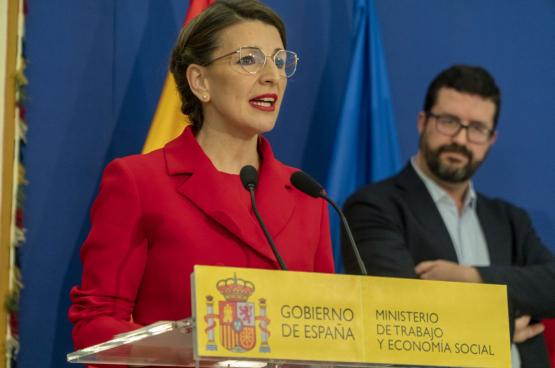 Yolanda Diaz, Ministre du Travail et de l'économie sociale (Photo Ministère du Travail, Espagne)