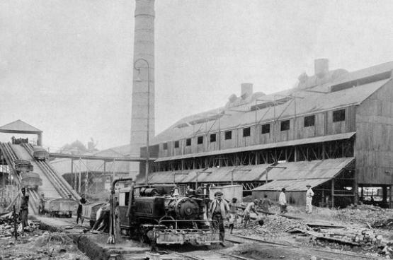 Compagnie minière de l'Union Minière du Haut-Katanga à Elisabethville, 1917