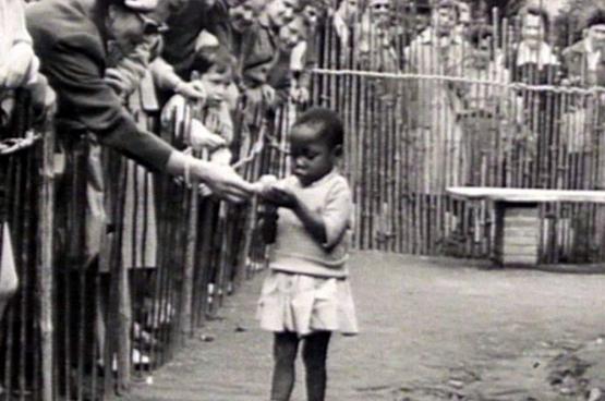 Pavillon du Congo à l'exposition universelle de 1958 à Bruxelles.