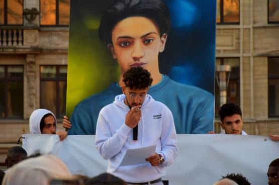 Ayoub Bouda : « On se bat pour quelque chose qui devrait être logique. Cela ne me ramènera pas mon frère. C'est juste pour honorer son nom, dans une démarche de justice et pour que cela ne se reproduise plus. » (Photo : ND)