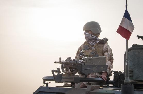 Des soldats français mobilisés au Mali dans le cadre de l'opération Barkhane lancée en 2013. (Photo : Fred Marle - Flickr)